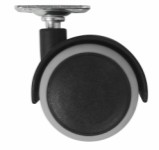 Castor double, swivel - 50mm
