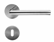 Door handle 16mm V handle-Stainless