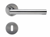 Door handle 19mm V handle-Stainless