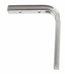 Shelf bracket U profile 125 x 150mm - Electro-galvanised