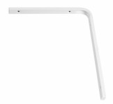 Shelf bracket F profile 250 x 300mm - white