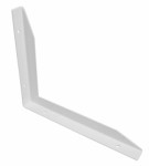 Multi-bracket left 250 x 300mm - white