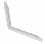 Multi-bracket left 300 x 400mm - white