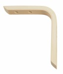 Laminate bracket 20mm 125 x 150mm - natural