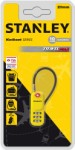 Stanley code lock 20 mm – yellow – with 3 digits and cable