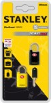 Stanley luggage lock 20 mm – 2-pack black/yellow
