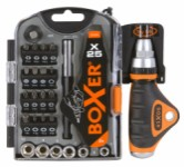 Socket and bit set - 25 pieces