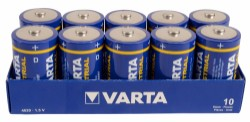 Varta Industrial High Energy - D - 10-pack