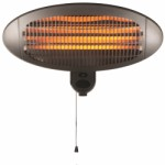 Patio heater - for wall - 2000 W