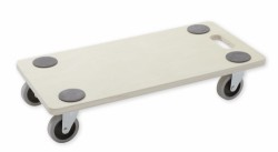 Furniture dolly 250 kg - Rubber wheels