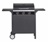 Gas barbecue with 3 burners