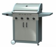 Gas barbecue 4B + SB – SS Door Supreme