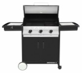 Gas barbecue 3B + SB – Black