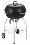 Charcoal kettle barbecue with ash bowl 4-legs Ø57 cm.