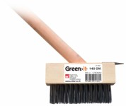 Tile cleaner with steel brush