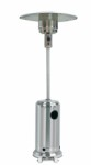 Patio heater Gas - Stainless Steel