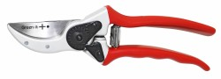 Secateurs PLUS-120 with curved cutting edge