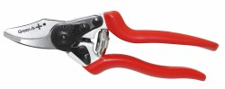 Secateurs PLUS-160 with curved cutting edge