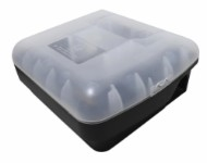 Plastic rat box - incl. trap