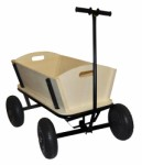 Pull trolley – wooden